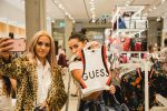 Guess store opening social snaps